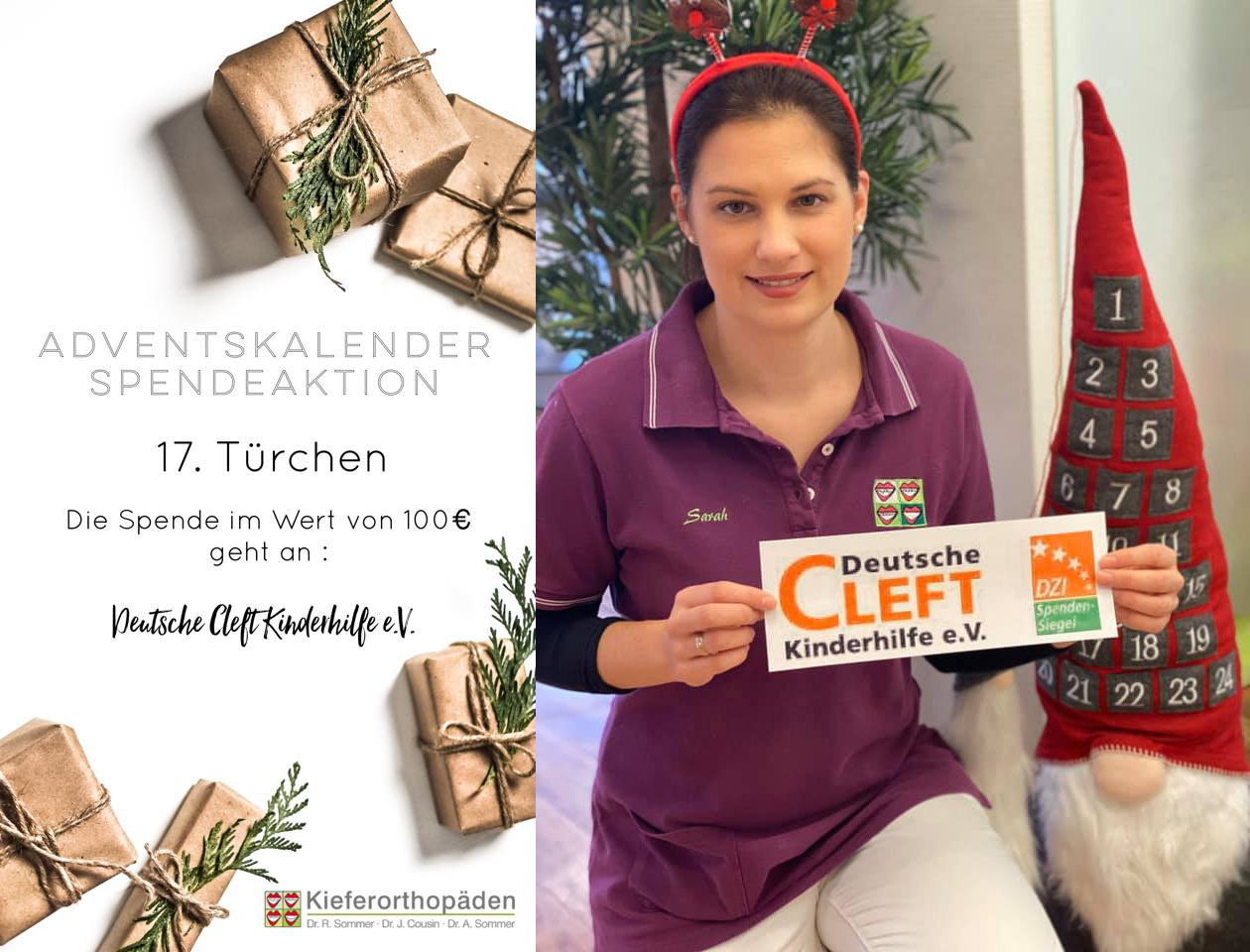 Adventskalender Spendenaktion · 17. Türchen