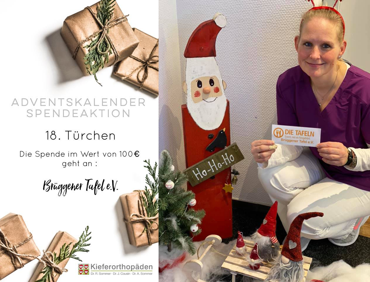 Adventskalender Spendenaktion · 18. Türchen