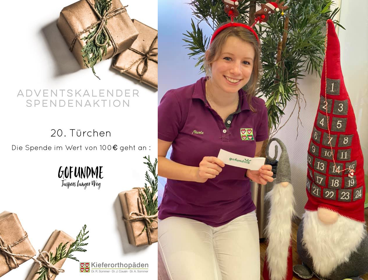 Adventskalender Spendenaktion · 20. Türchen