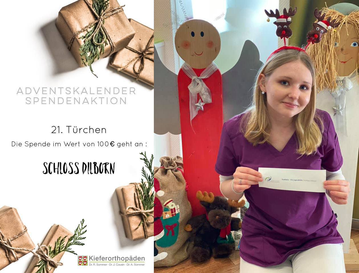 Adventskalender Spendenaktion · 21. Türchen
