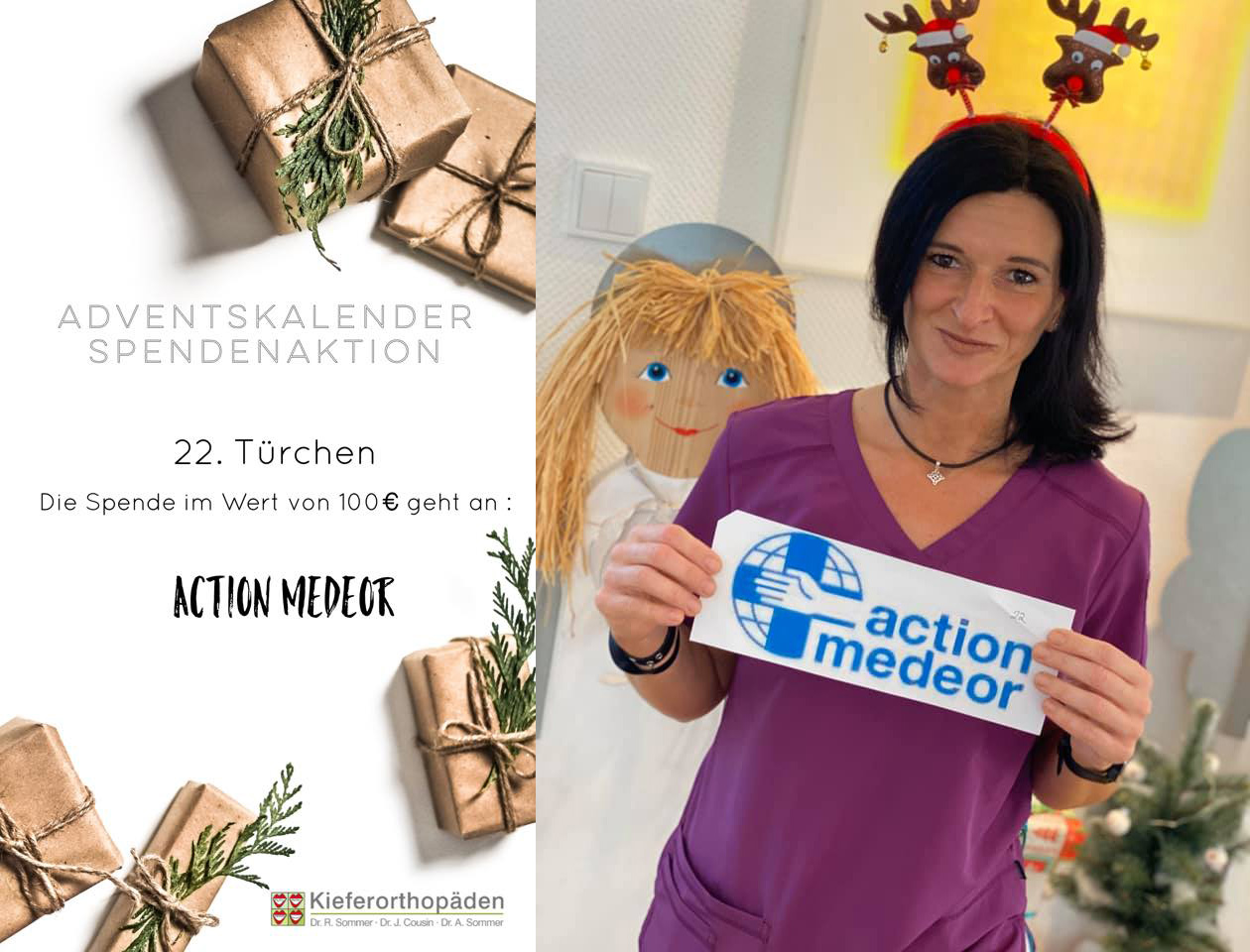 Adventskalender Spendenaktion · 22. Türchen
