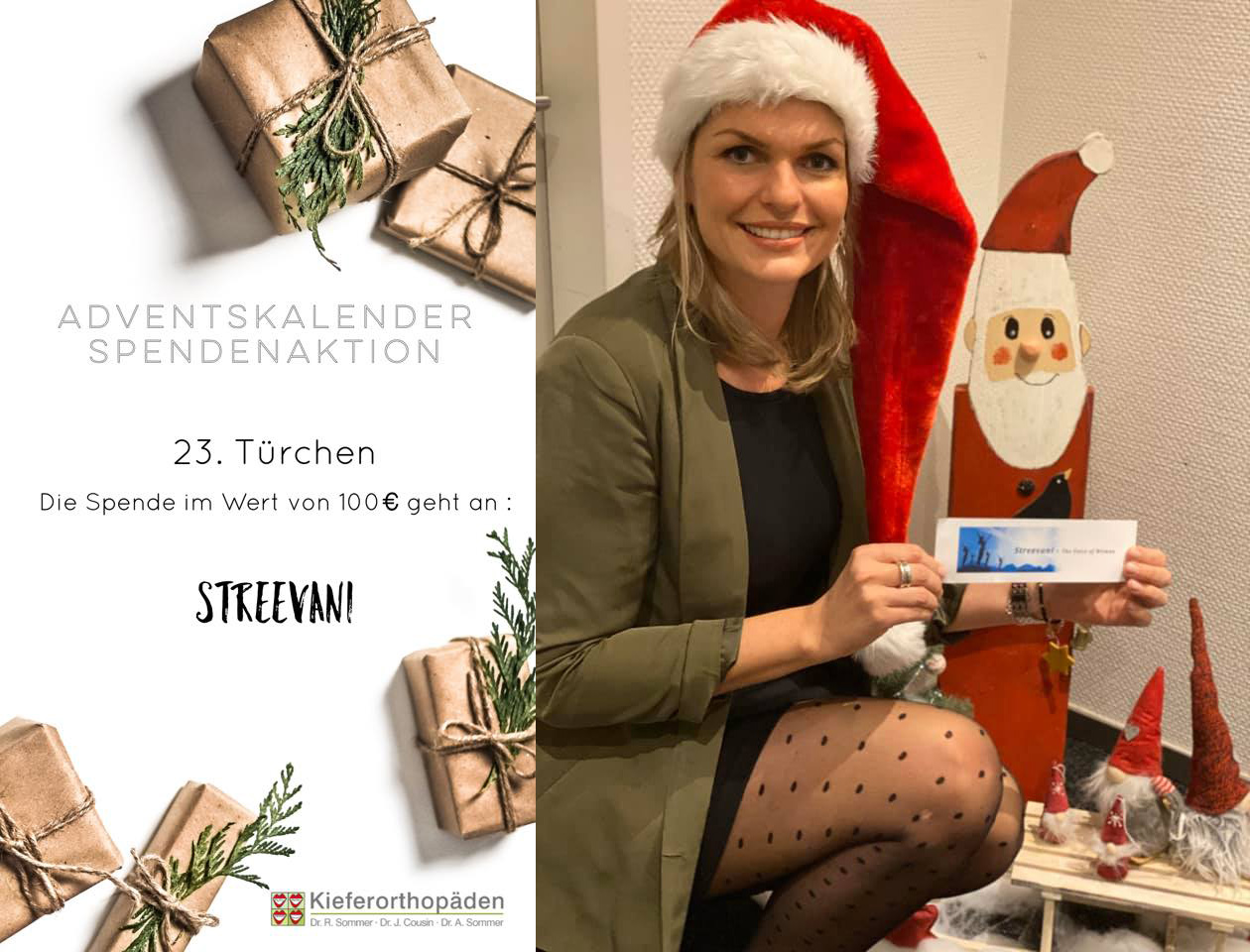 Adventskalender Spendenaktion · 23. Türchen