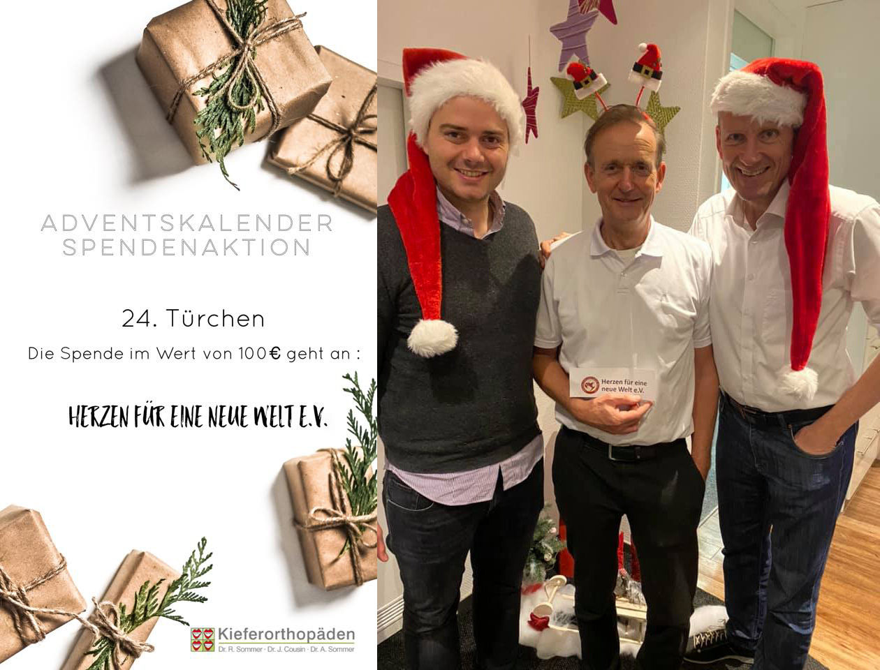 Adventskalender Spendenaktion · 24. Türchen